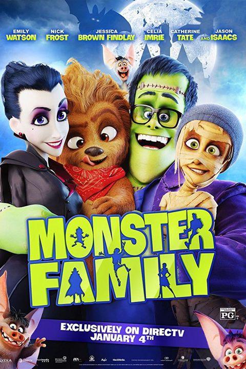 kids halloween movies monster family