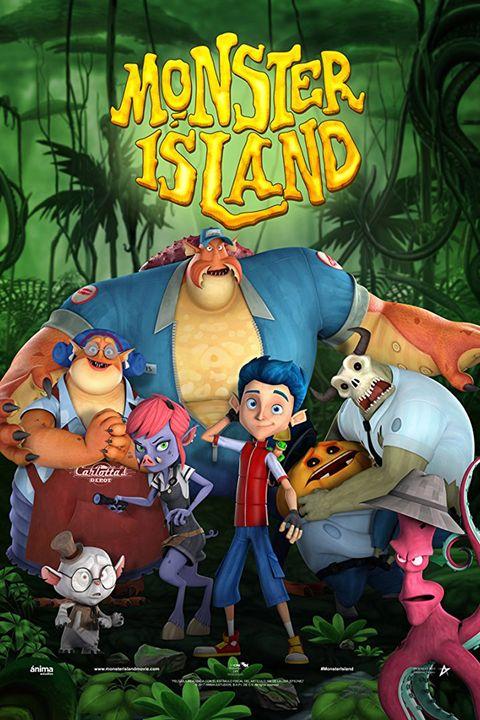 kids halloween movies netflix monster island