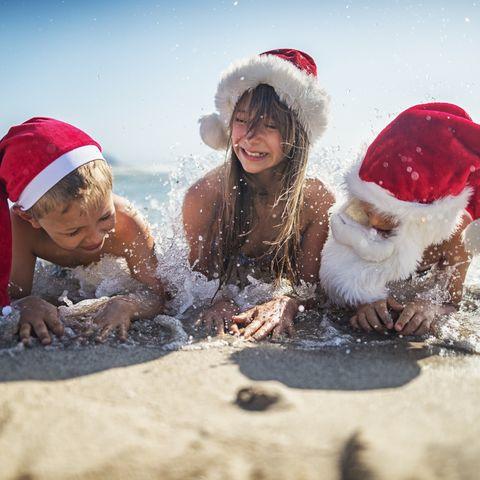 Christmas holidays in the sun