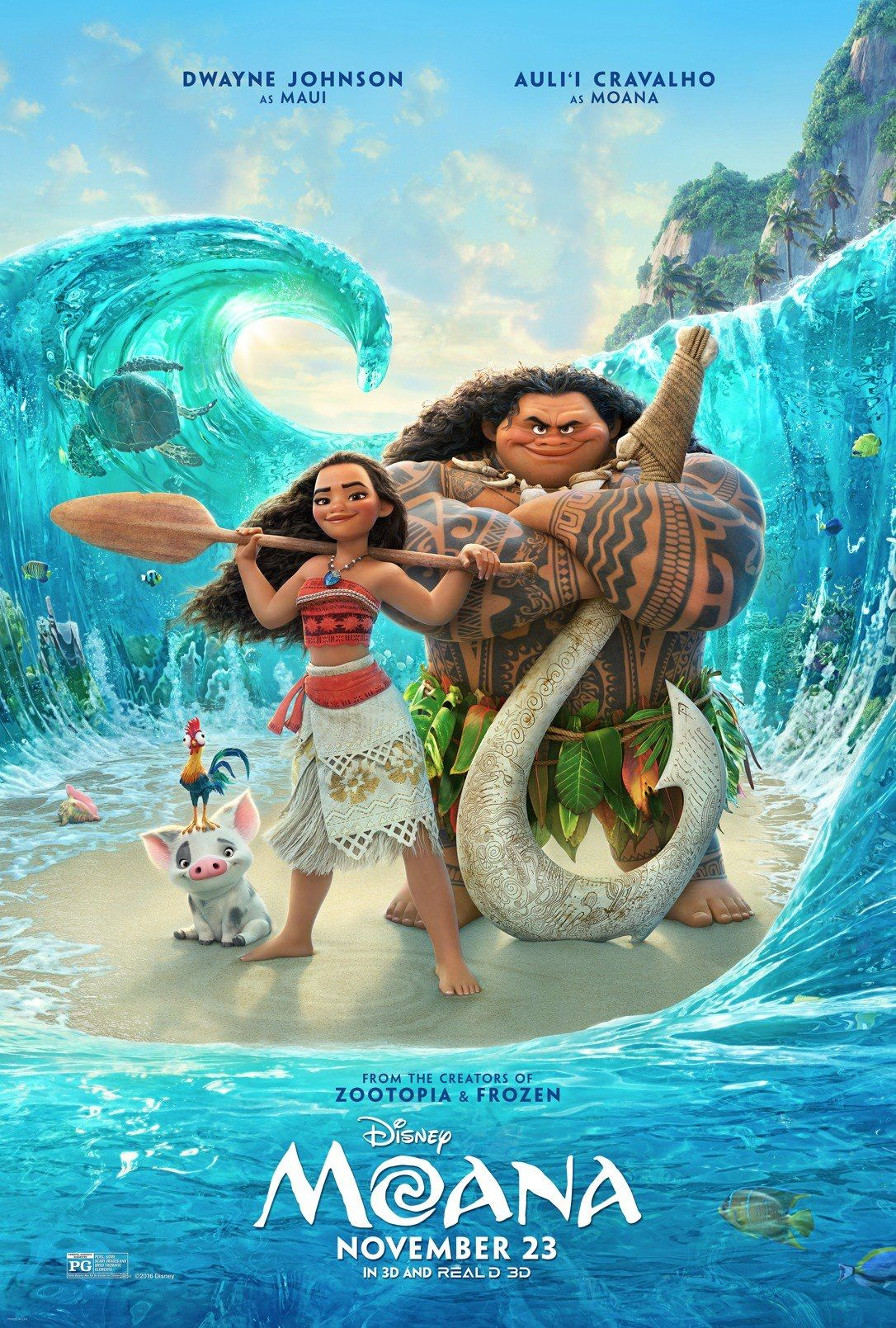 kids movies on netflix - Moana