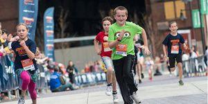 Kids Run Race with 300x150