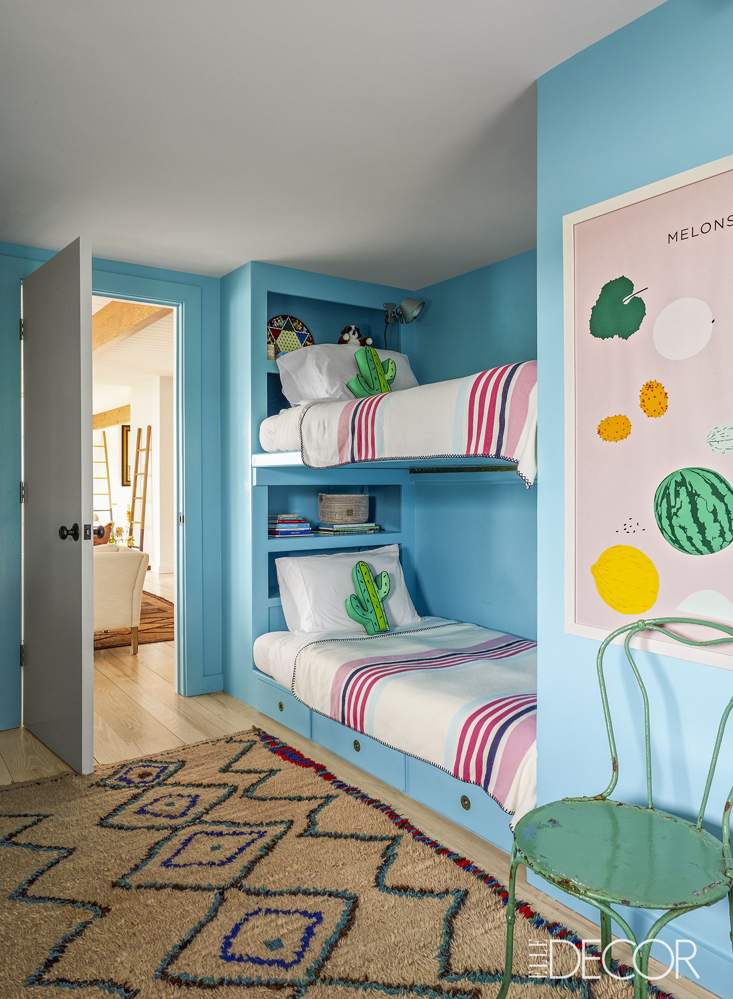 Kids Room Decorating Ideas Part - 30: Elle Decor