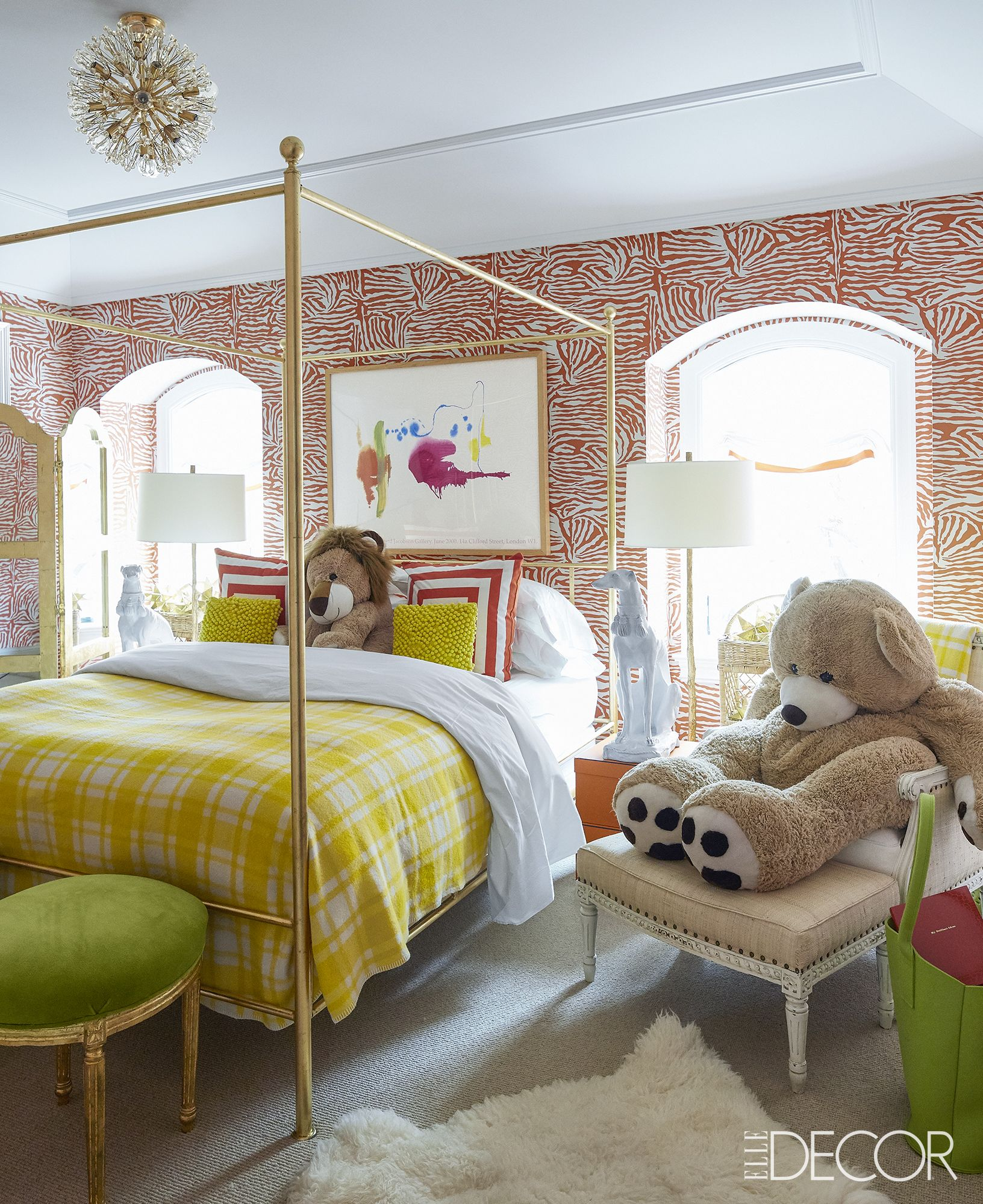 Kids Room Decorating Ideas Part - 23: Elle Decor