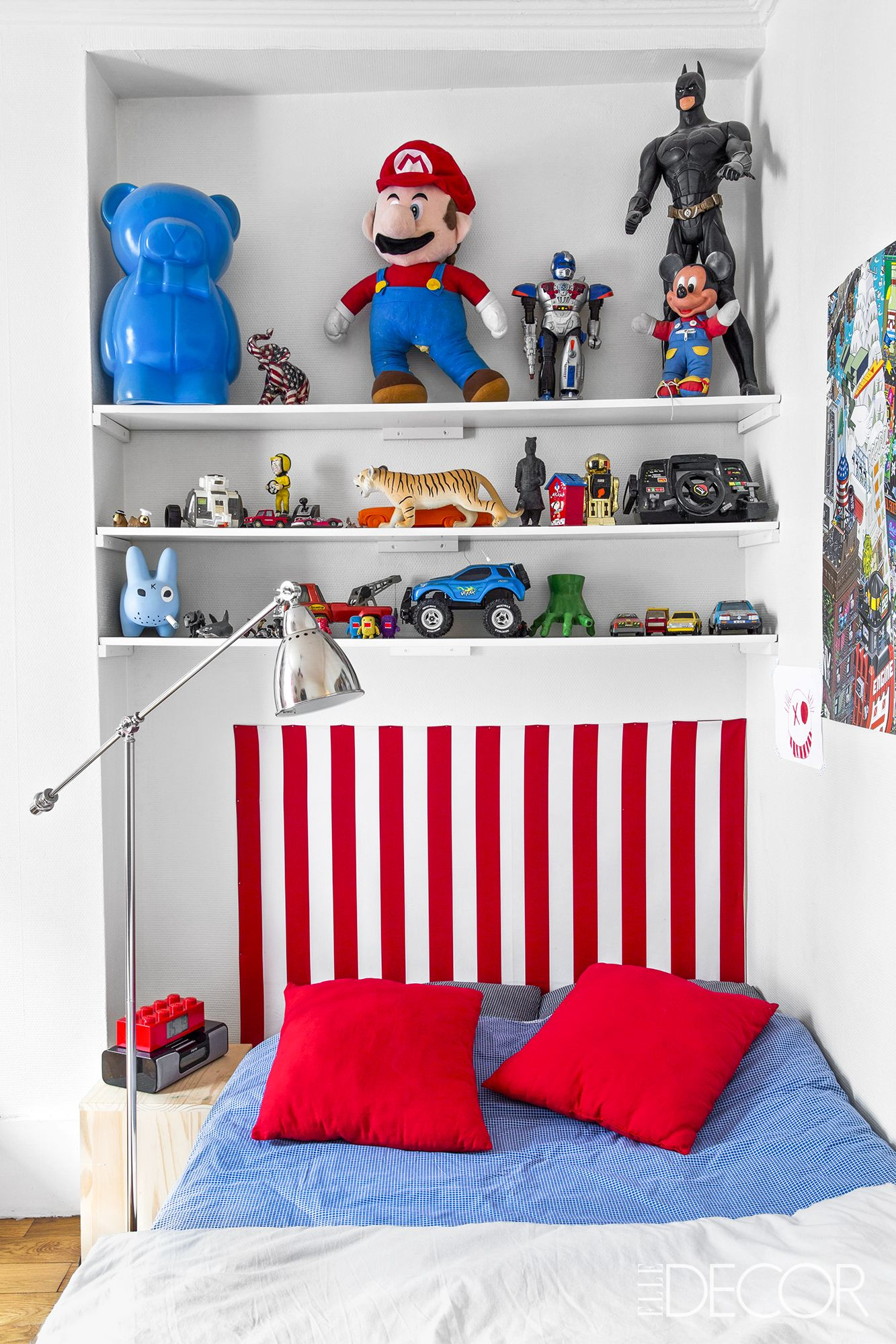 Kids Room Decorating Ideas Part - 29: Elle Decor