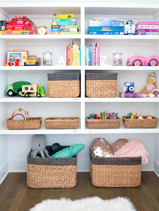 25 Best Toy Organizer Ideas - DIY Kids\' Room Storage Ideas