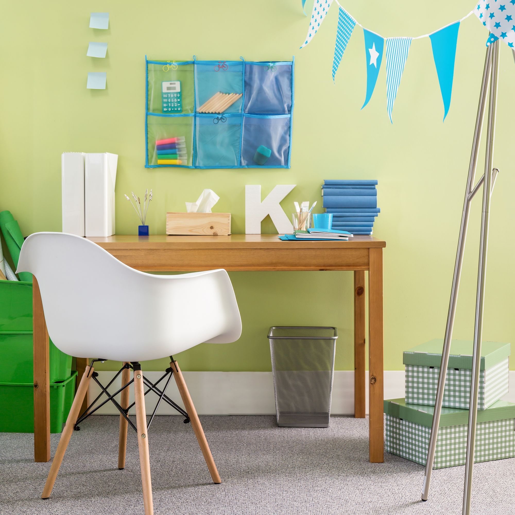 Picture of: How To Make An At Home Workstation For Kids In 2020