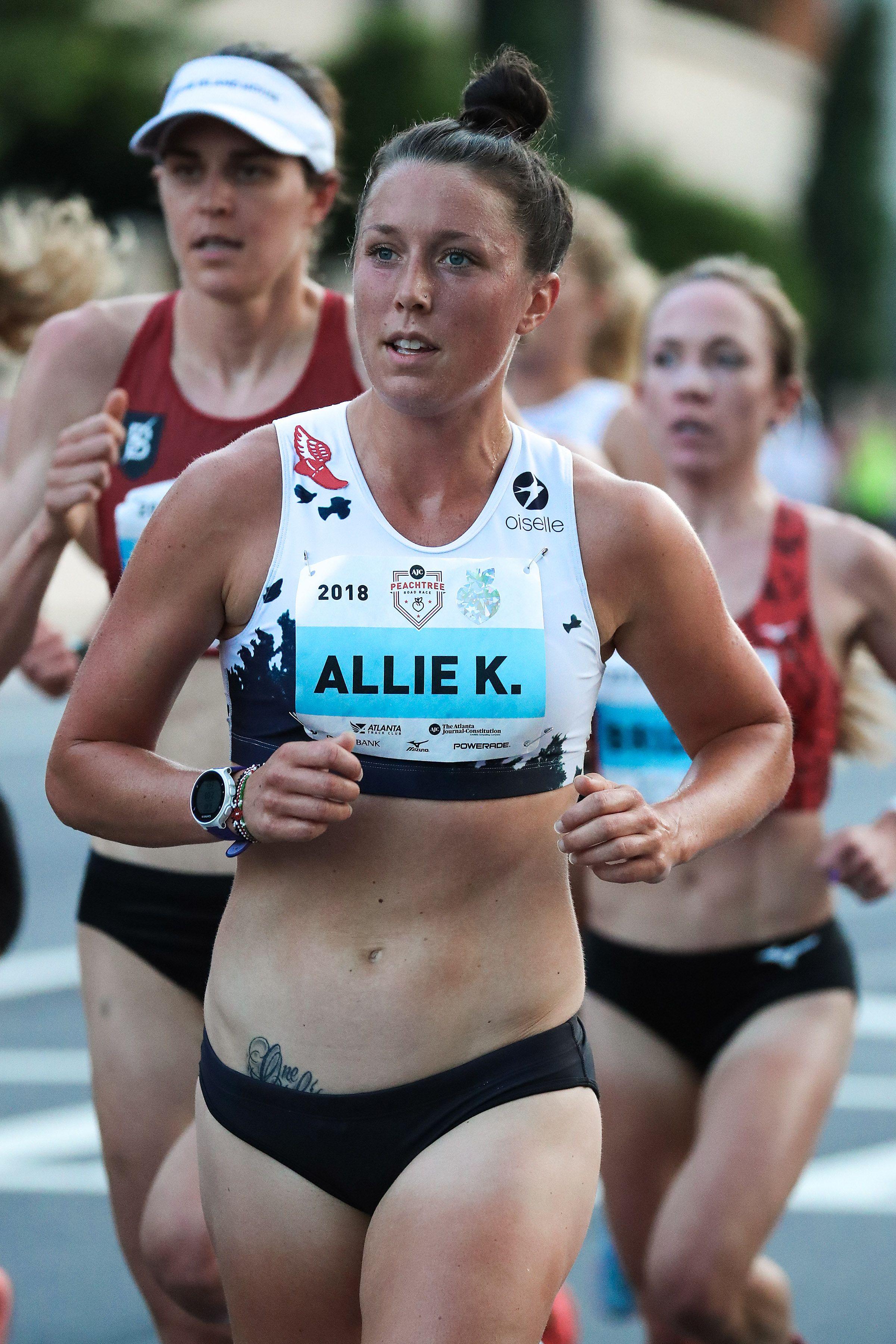 Allie Kieffer Uses Harsh Words as Motivation for Her Running