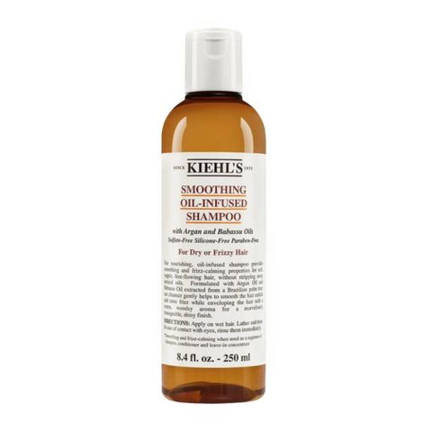 kiehl's smoothing oil infused shampoo