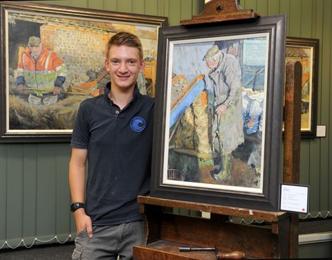 Famous 15-year-old 'Mini Monet' painter Kieron Williamson to auction Chelsea Flower Show paintings