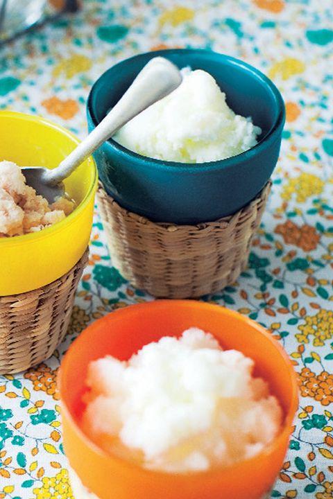 Food, Cuisine, Dish, Ingredient, Frozen dessert, Dessert, Ice cream, Sorbet, Dairy, Frozen yogurt,