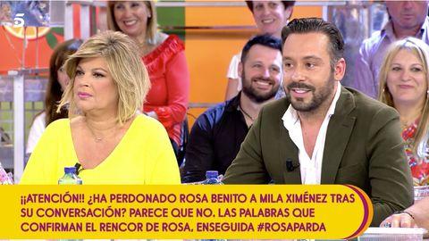 Kike Calleja con Terelu Campos