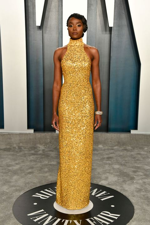 Image result for Kiki Layne at the oscars 2020 main event