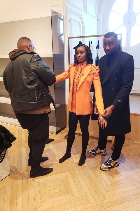 Valentino Couture Show Photo Diary - Kiki Layne