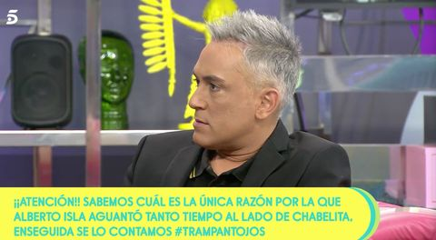 Kiko Hernández habla de la serie de Isabel Pantoja