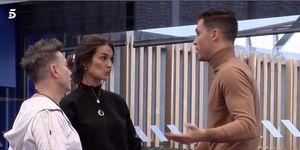 Kiko Jiménez y Estela Grande vuelven a ser amigos en 'El tiempo del descuento'
