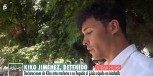 Kiko Jiménez, Sofía Suescun, Kiko y Sofía, Kiko Jiménez detenido, Kiko Jiménez calabozo Marbella, juicio Kiko Jiménez