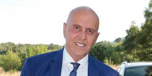 El colaborador televisivo no se ha querido perder el enlace de Diego Matamoros y Estela Grande.