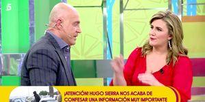 Carlota Corredera y Kiko protagonizan un tenso encuentro