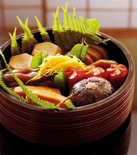 「菊乃井」のおせち「煮しめ」