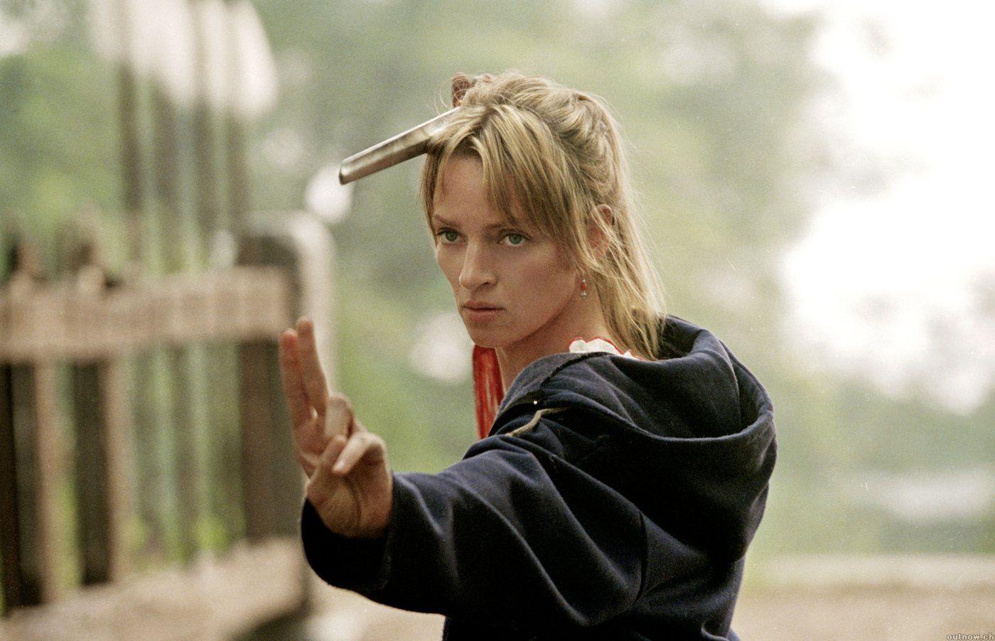 Quentin Tarantino Habla con Uma Thurman de Kill Bill 3 - Película