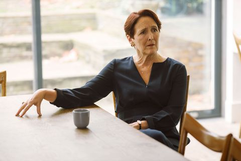 carolyn martens fiona shaw killing eve costume