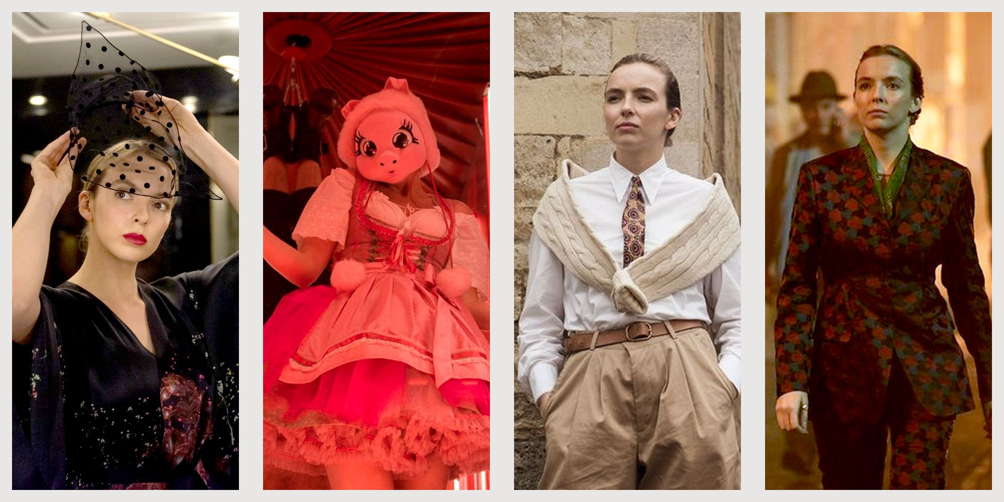20 Best Killing Eve Costumes See Photos Of Villanelle And Eve S Designer Clothes And Dresses
