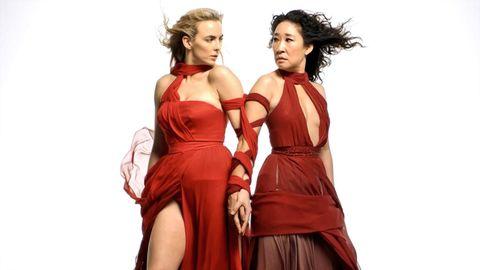 Fashion model, Clothing, Red, Dress, Shoulder, Formal wear, Fashion, Gown, Fashion design, Cocktail dress,