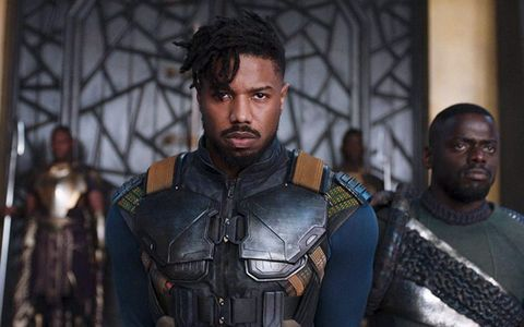 39ec56406cee Michael B. Jordan Saw a Therapist After Playing Villain Erik Killmonger in  Black Panther