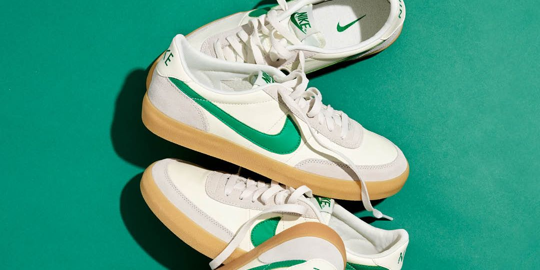 769d0187ccb Nike Killshot 2 Sneakers in Green from J.Crew Are Now Available