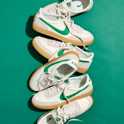f6b15c56d79d8 Nike Killshot 2 Sneakers in Green from J.Crew Are Now Available