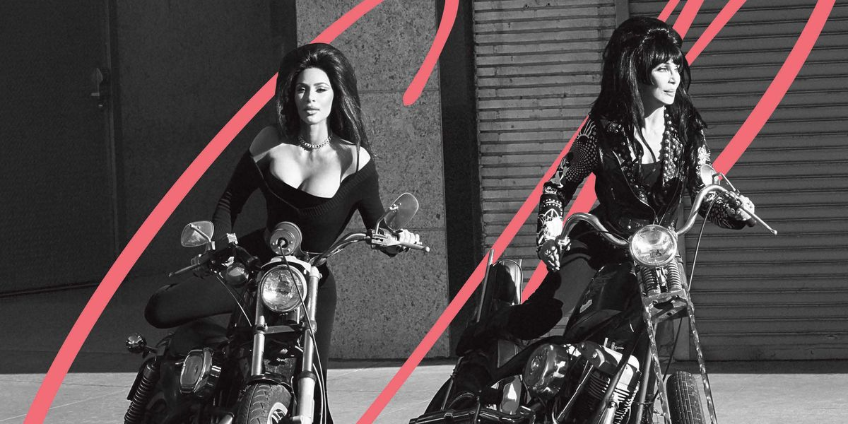 Cher, Naomi, and Kim Kardashian West—Together for The First Time Ever