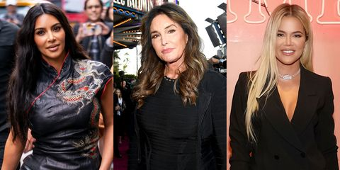 Kim Kardashian, Caitlyn Jenner, and Khloe Kardashian