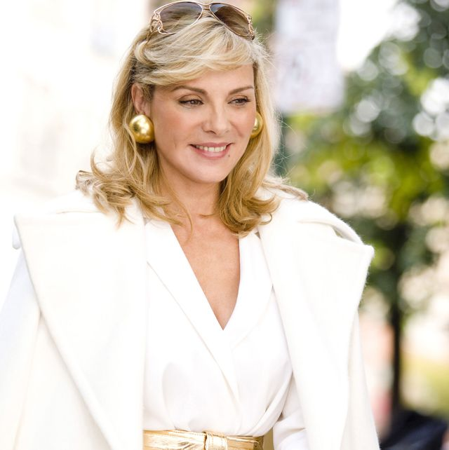 kim cattrall as samantha jones in sex and the city