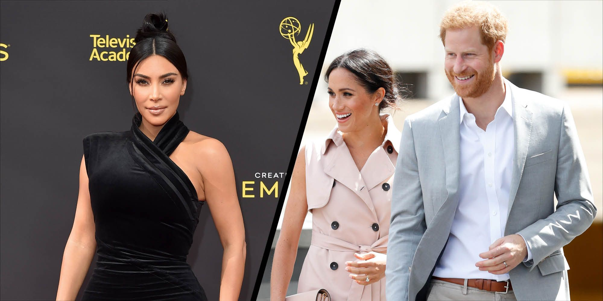 Kim Kardashian West defends the Duke and Duchess of Sussex