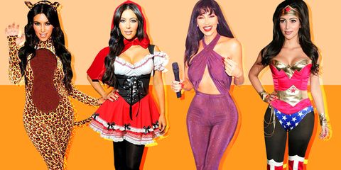 Kim Kardashian Halloween Costumes A Fashion Psychologist Assesses