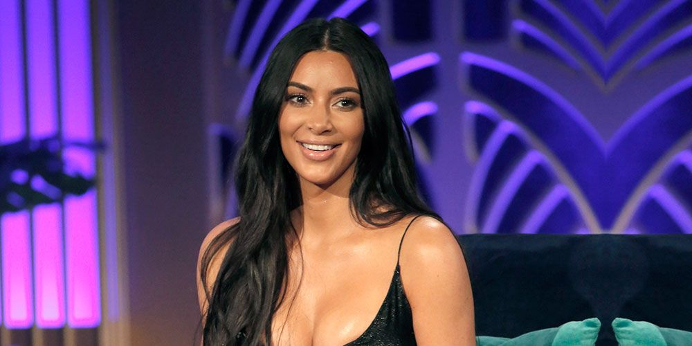 Kim Kardashian wore a sheer top, and her nipples are loving it