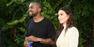 Kim and Kanye attended family barbecue with North and Saint