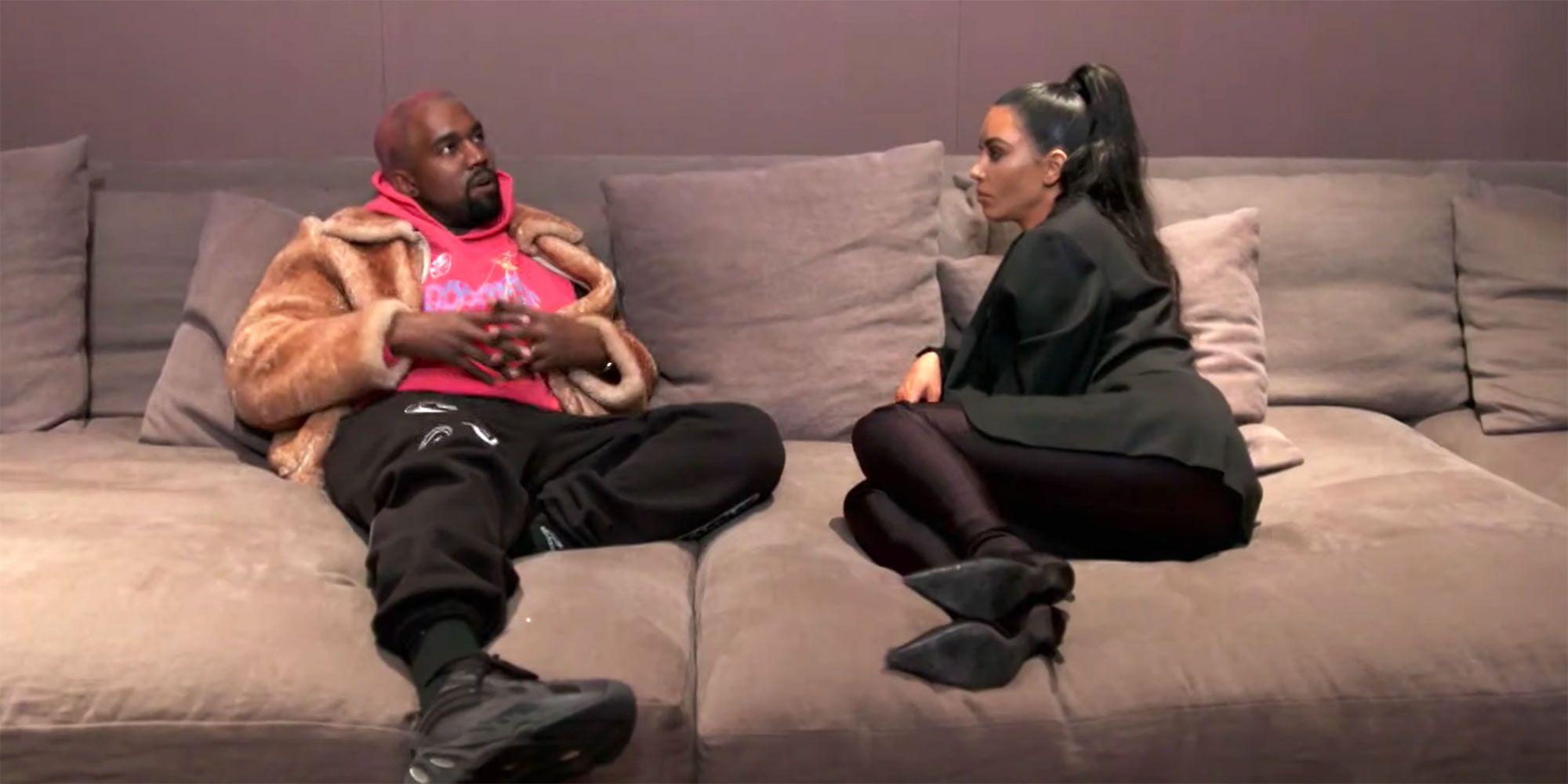 Kanye West et Kim Kardashian porno