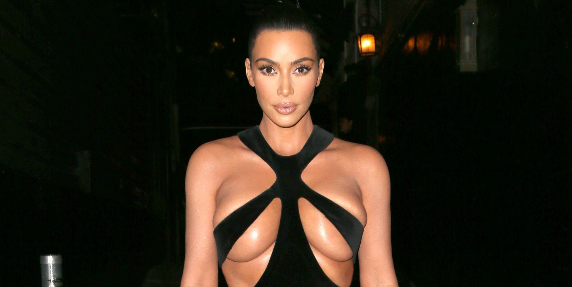 Is this Kim Kardashian's most daring dress to date?