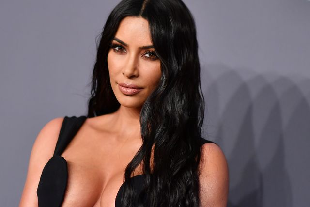 us media personality kim kardashian west arrives to attend the amfar gala new york at cipriani wall street in new york city on february 6, 2019 photo by angela  weiss  afp photo by angela  weissafp via getty images