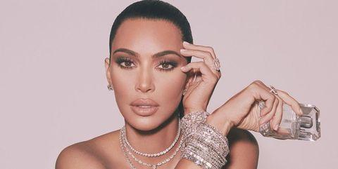 Kim Kardashian, en una foto de redes sociales.