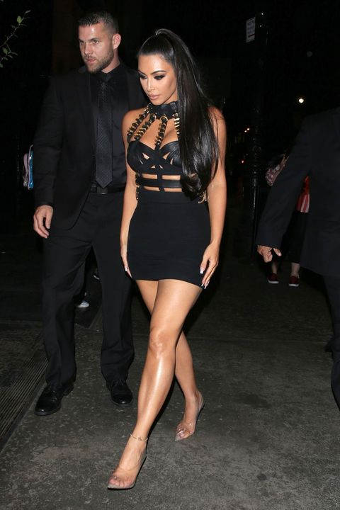 20e210974b7 Kim Kardashian just wore a bondage dress to the 2018 Met Gala afterparty