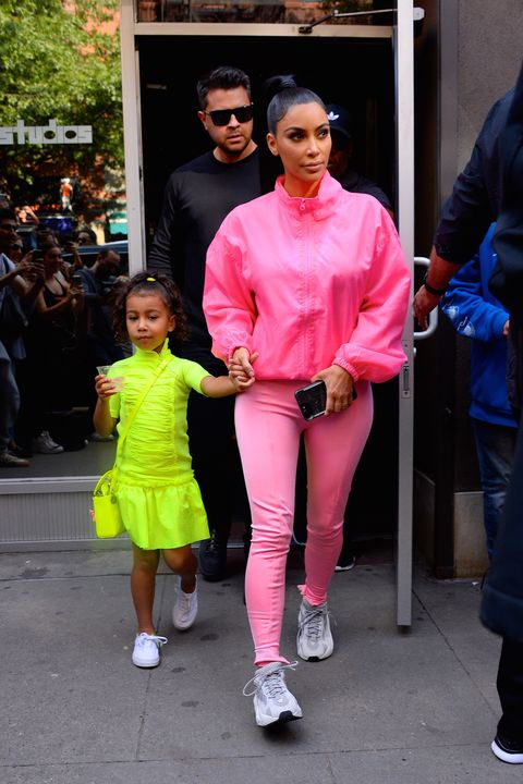 North West Looked Just Like Kim Kardashian West Backstage at Saturday Night Live