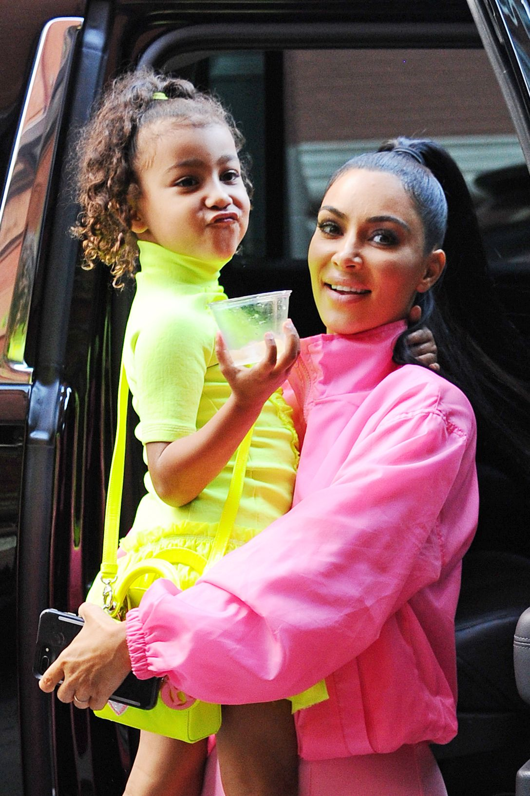 Uh, Kim Kardashian Stopped For a Bikini Wax and Manicure Before North West Was Born