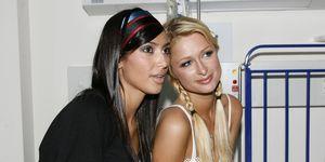 Paris Hilton Visits Royal North Shore Childrens Hospital in Sydney - December 30,2006