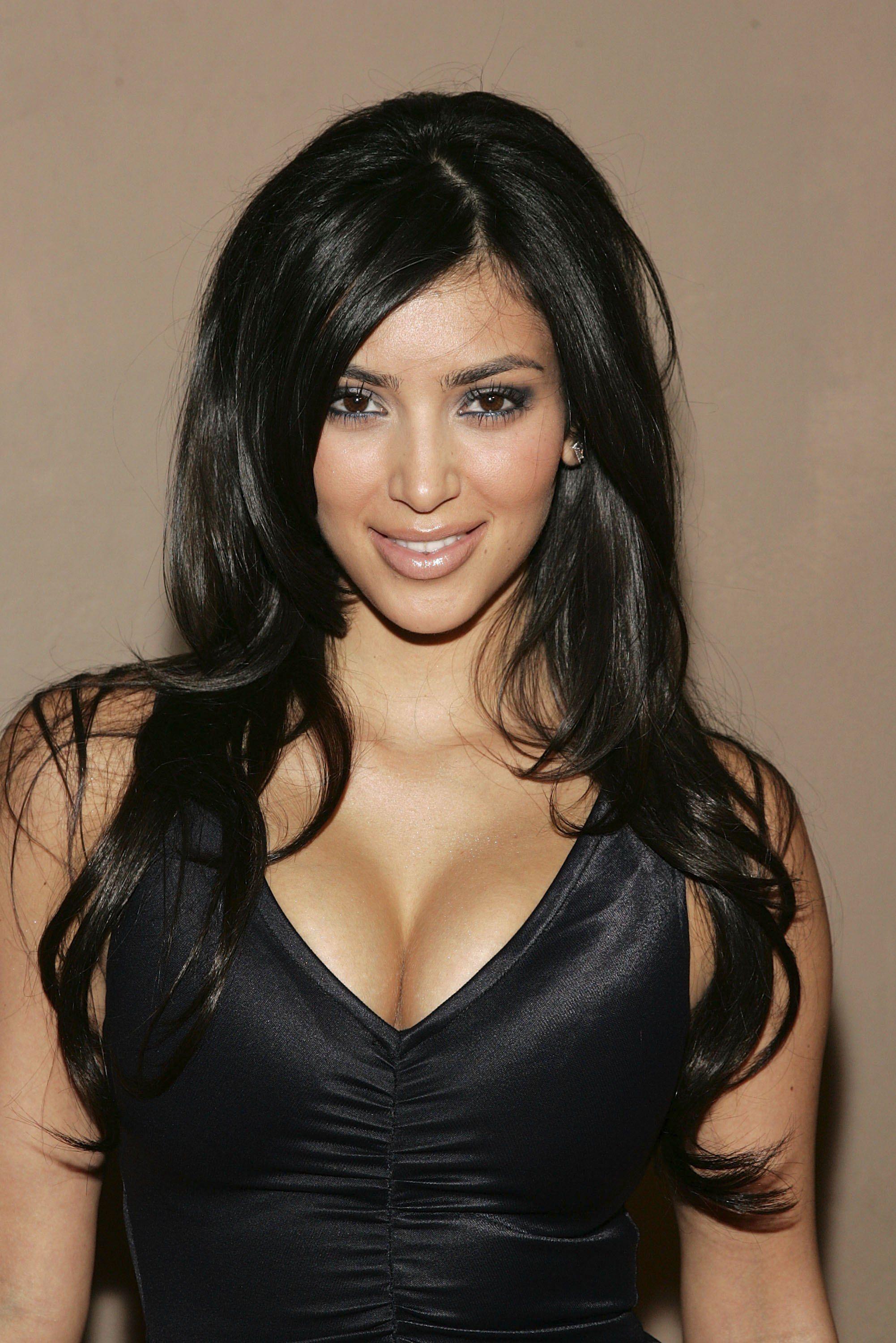 Colore di capelli di kim kardashian