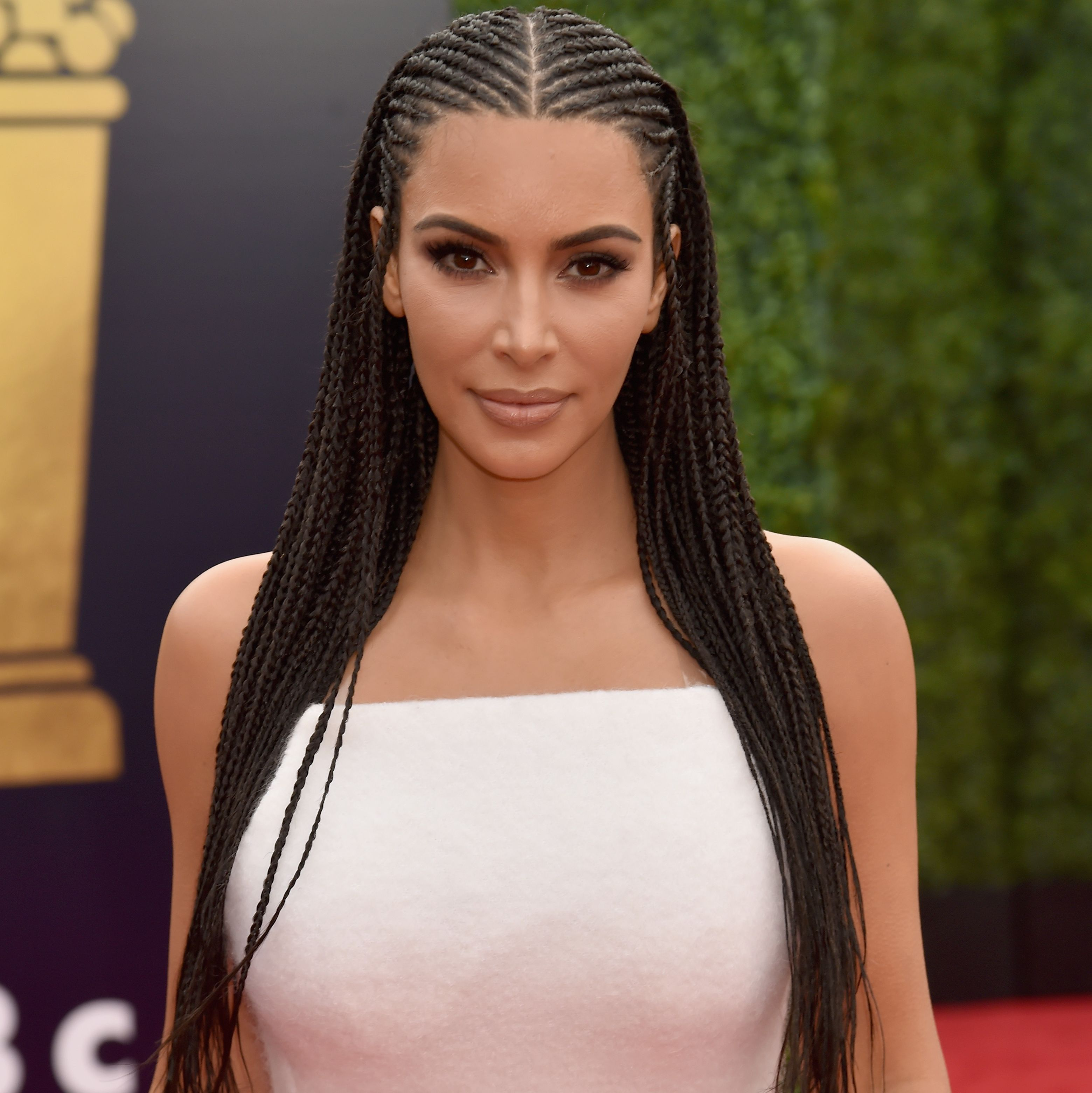 Kim Kardashian Tried to Squash Cultural Appropriation Claims With a Weird Throwback Photo