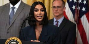Kim Kardashian bezoek Witte Huis