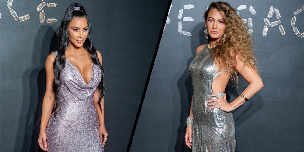Kim Kardashian and Blake Lively