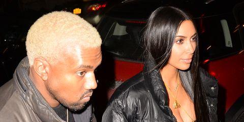 kim kardashian blonde kanye